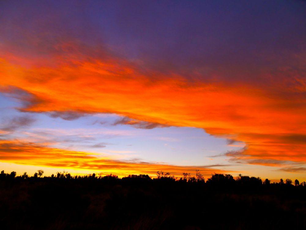 Sunset, Ayers Rock