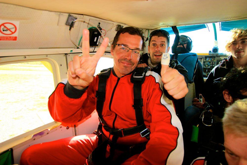 Skydive Franz Josef Gletscher