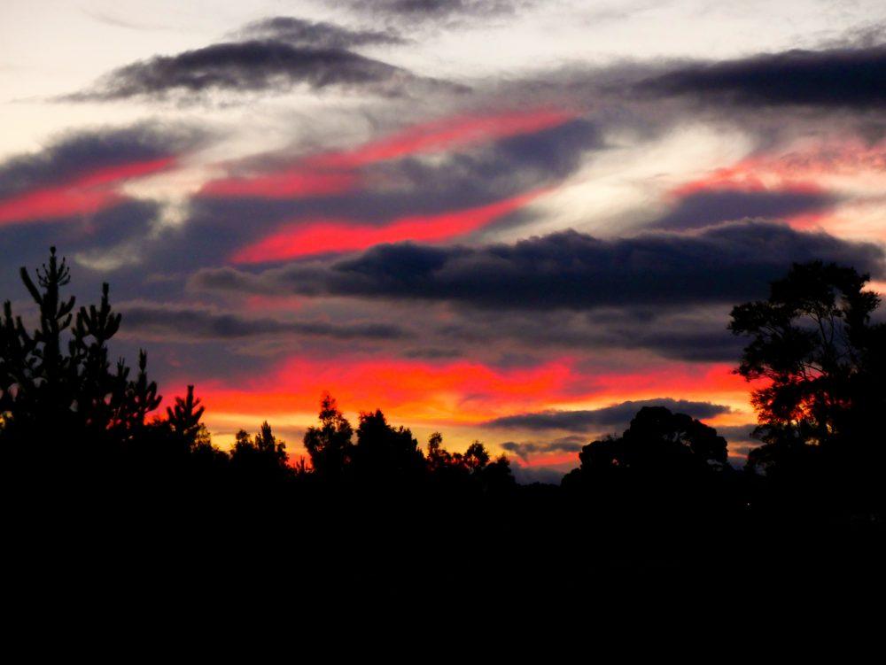 Sunset, Lake Taupo, North Island
