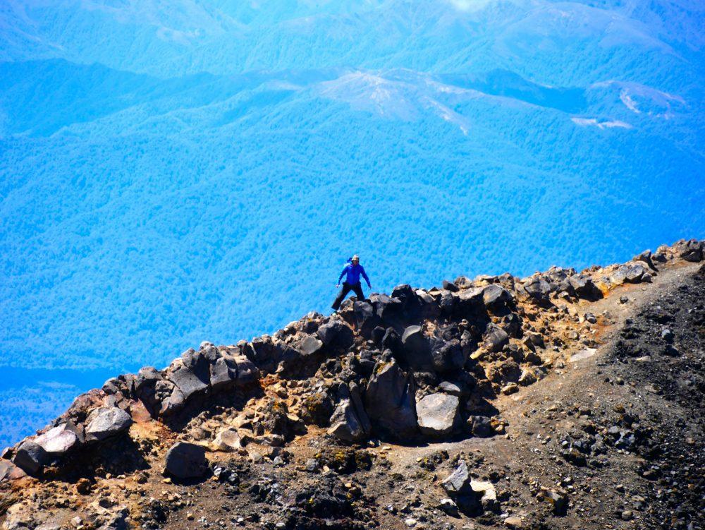 Krater Mt. Ngauruhoe, Tongariro NP