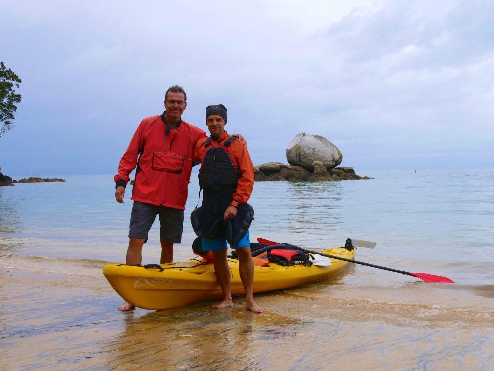 Kajaktour, Sandy Bay, Abel Tasman NP
