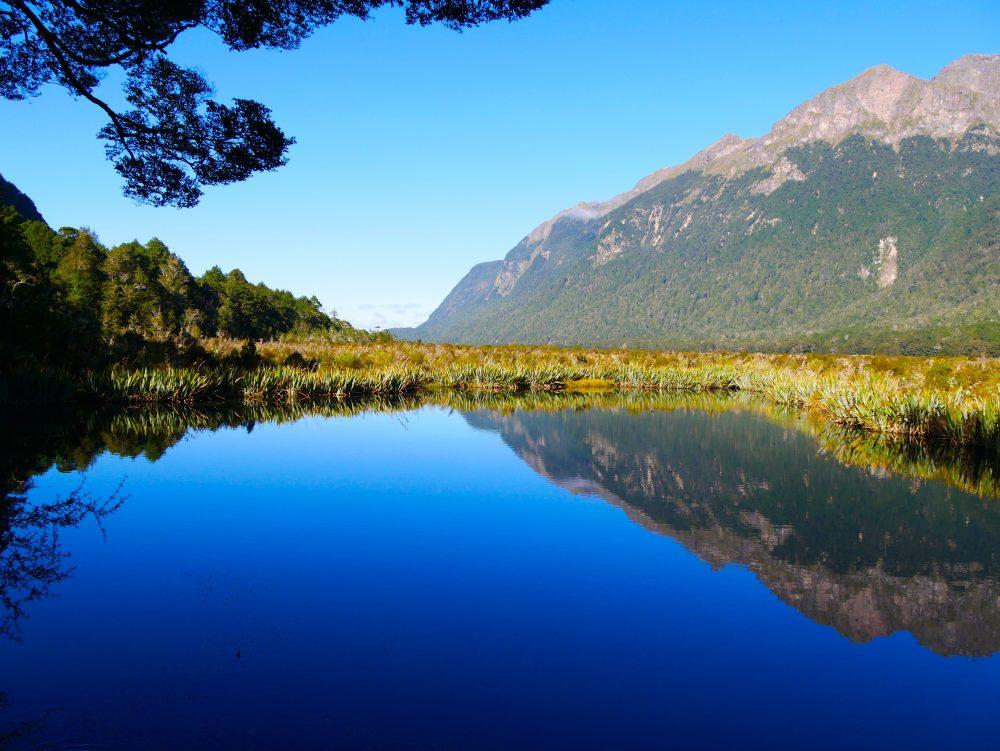 Mirror Lake, Fiordland NP