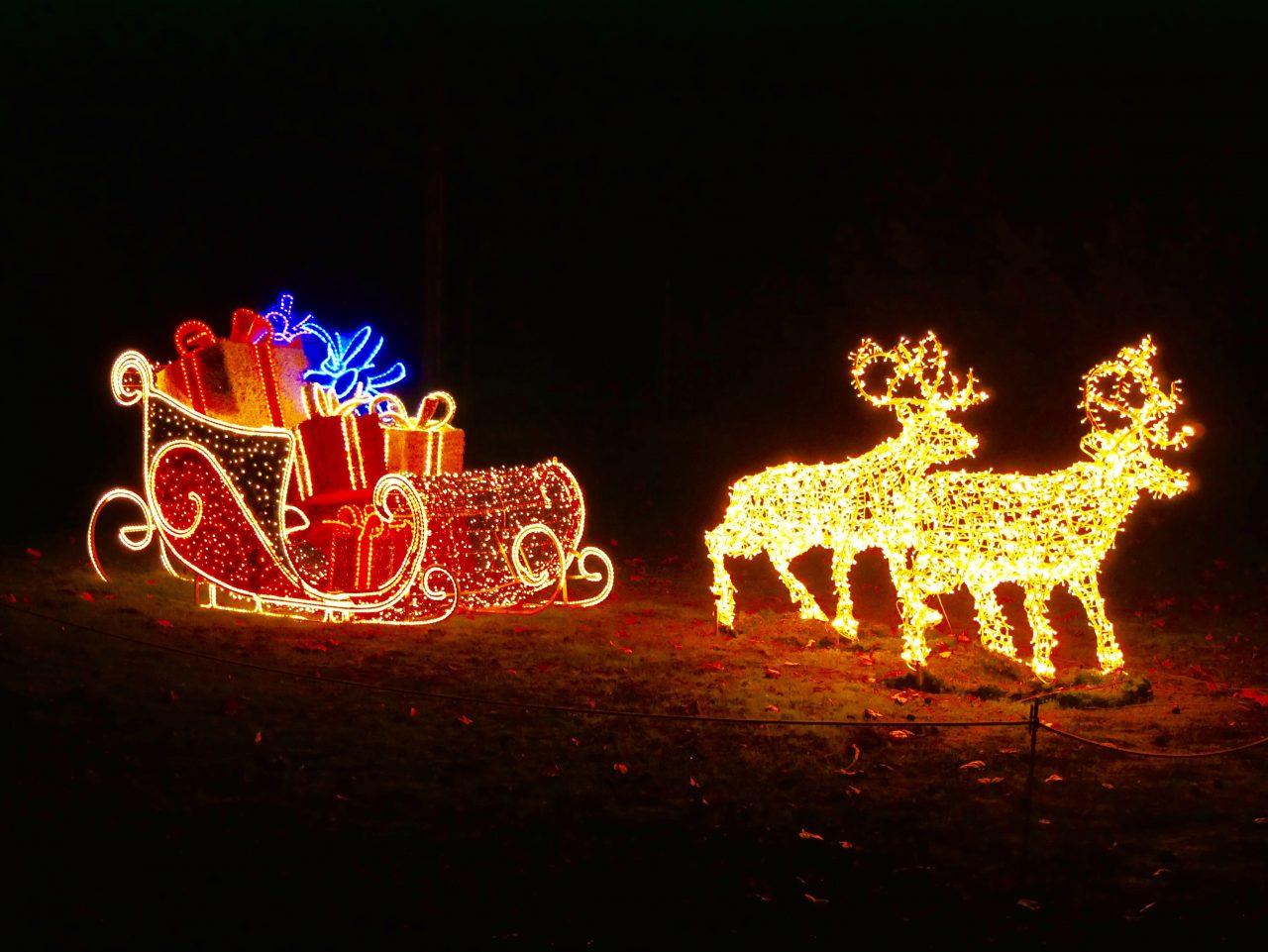 Die Rast des Weihnachtsmannes