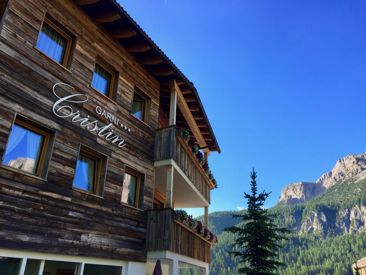 Pension Cristin, Colfosco, Dolomites, Italy