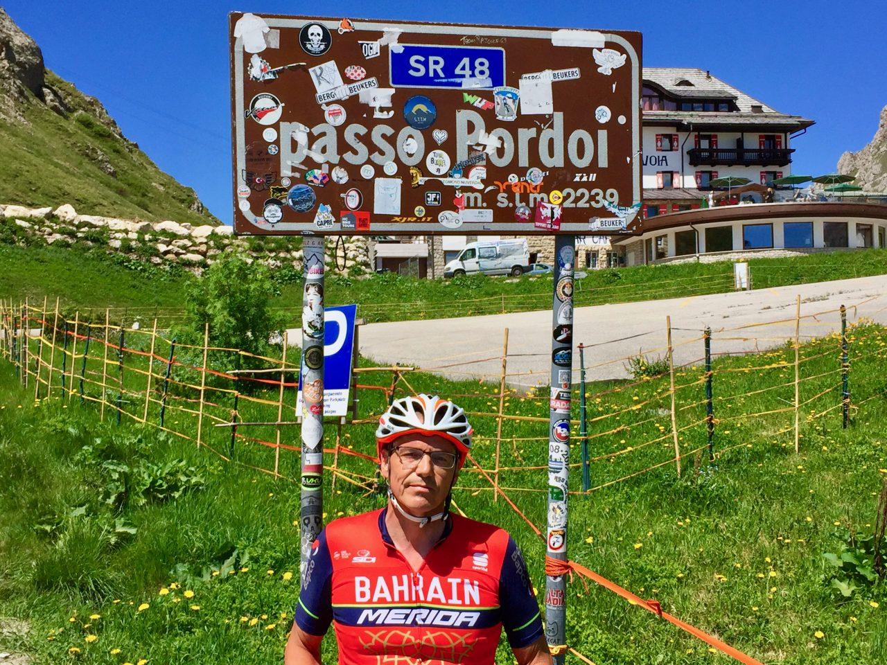 Martin, Passo Pordoi, Dolomites, Italy