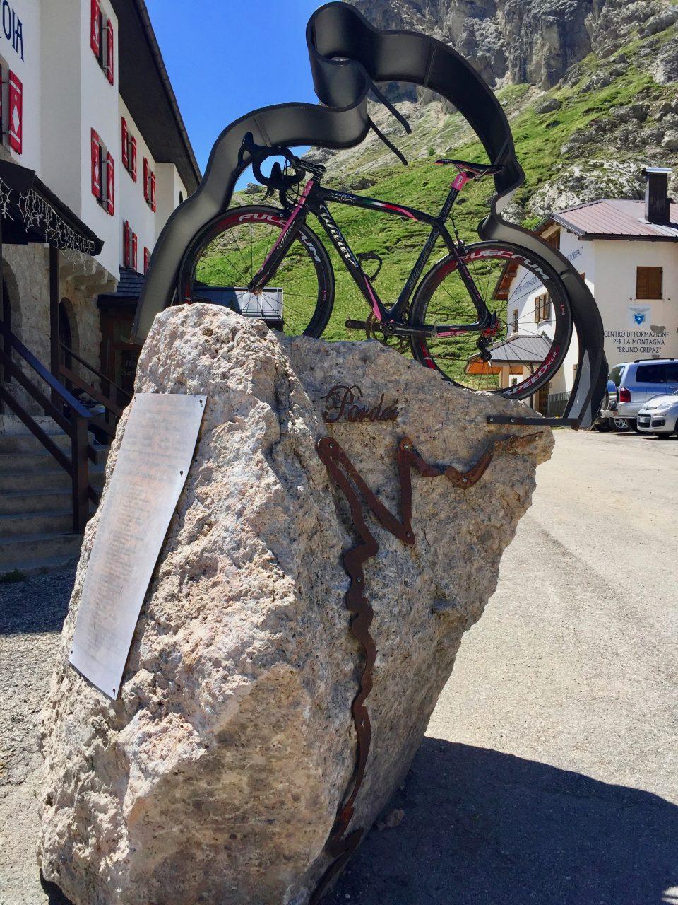 Originalrad Gilberto Simoni, Passo Pordoi, Dolomites, Italy