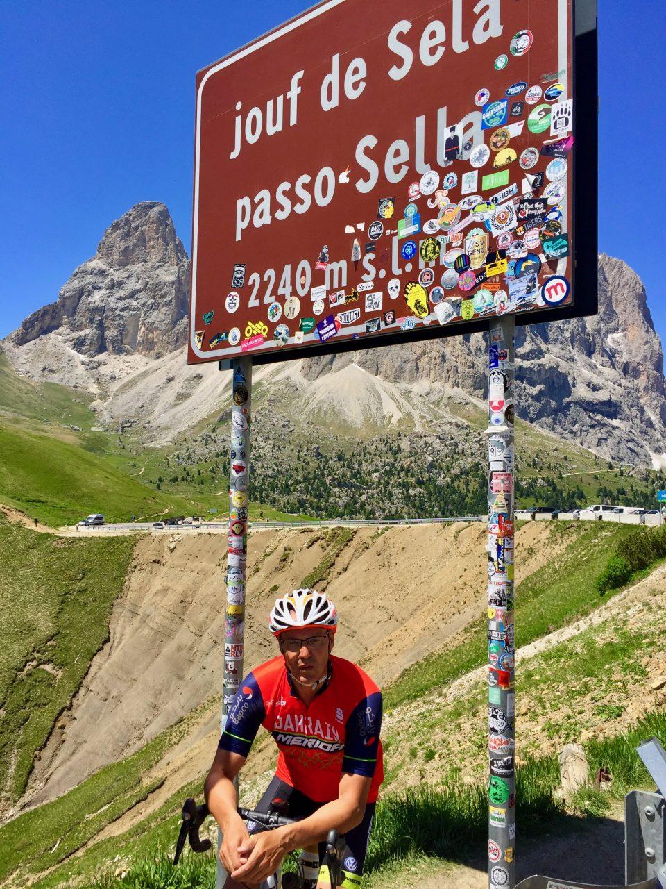 Martin, Passo Sella, Dolomites, Italy