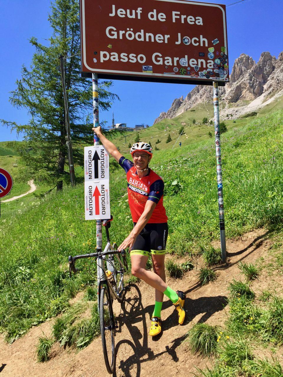 Martin, Passo Gardena, Dolomites, Italy