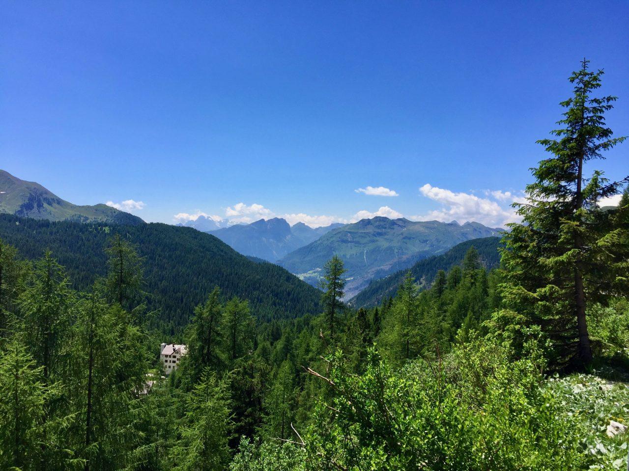 Passo Falzarego, Dolomites, Italy