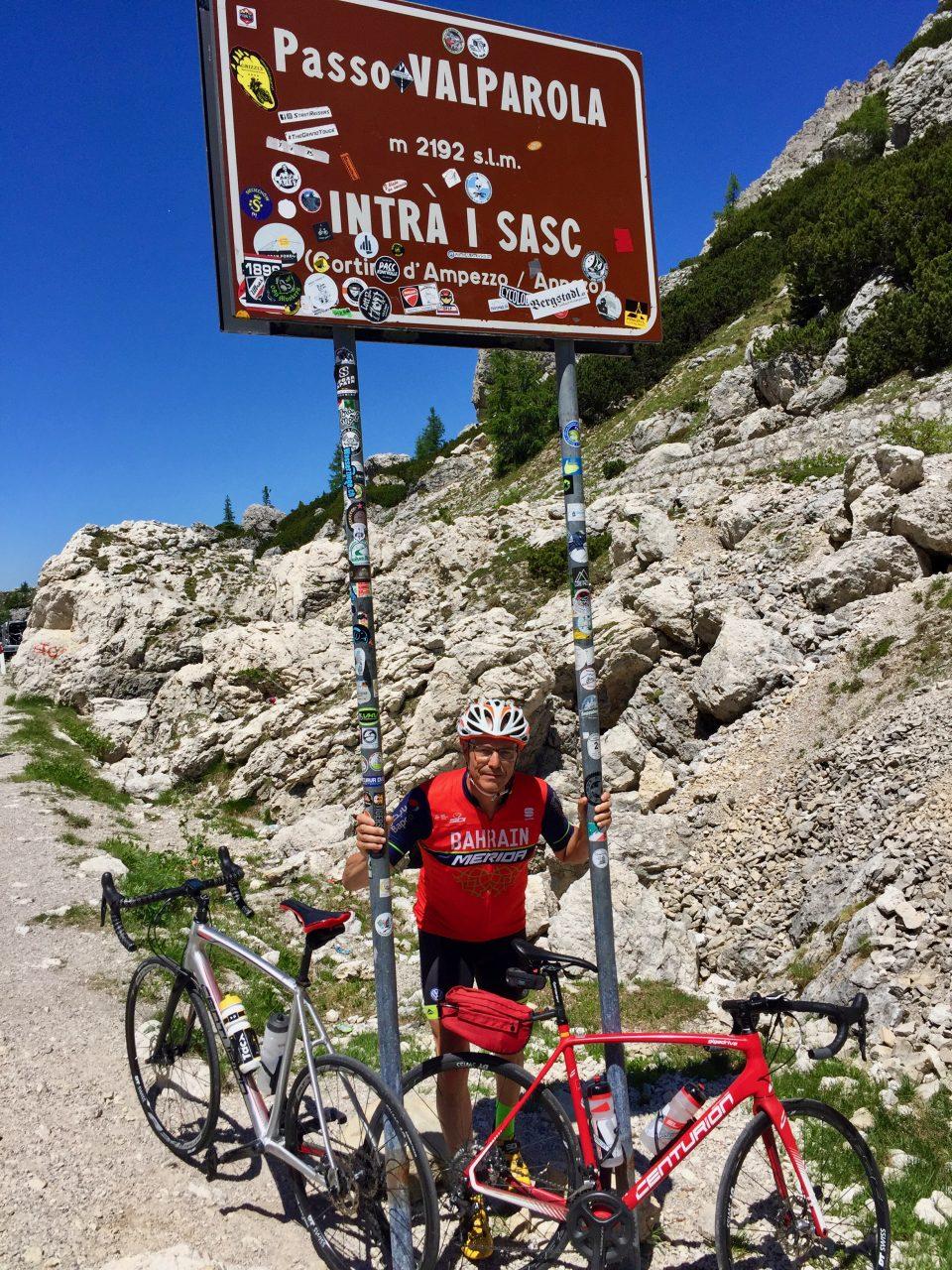 Martin, Passo Valparola, Dolomites, Italy