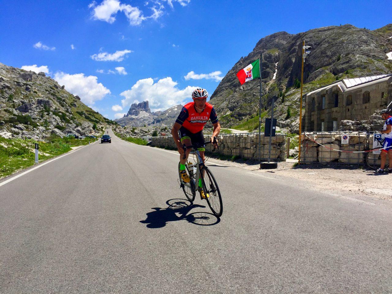 Passo Valparola, Dolomites, Italy
