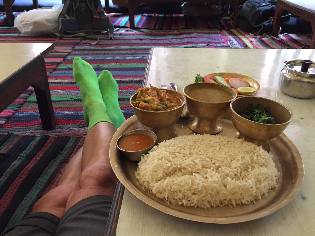 Dal Bhat, OR2K, Thamel, Kathmandu, Nepal