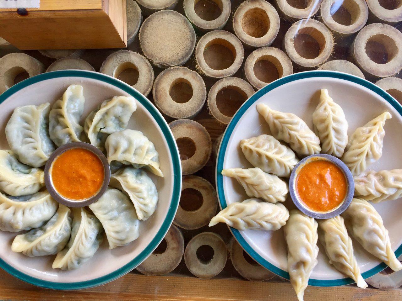 Momos, Basuri Veg Restaurant, Kathmandu, Nepal