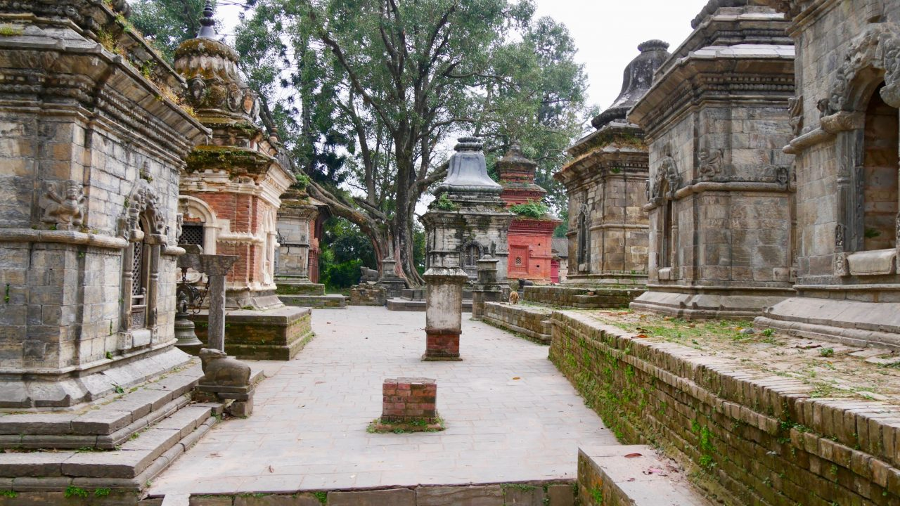 Hindu Tempel Pashupatinath, Kathmandu, Nepal