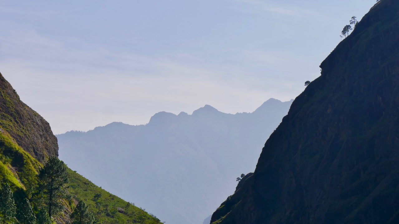 3. Etappe: Jagat (1.340) - Deng (1.860)