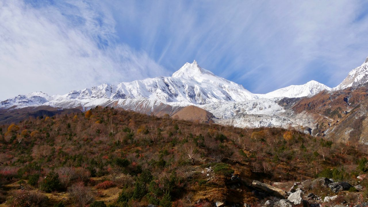 Tag 8: Sama (3.520) - Manaslu High Camp (4.800)