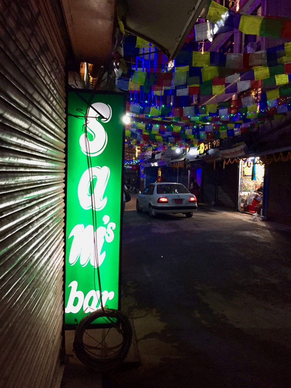 Letzter Abend in Kathmandu, Nepal