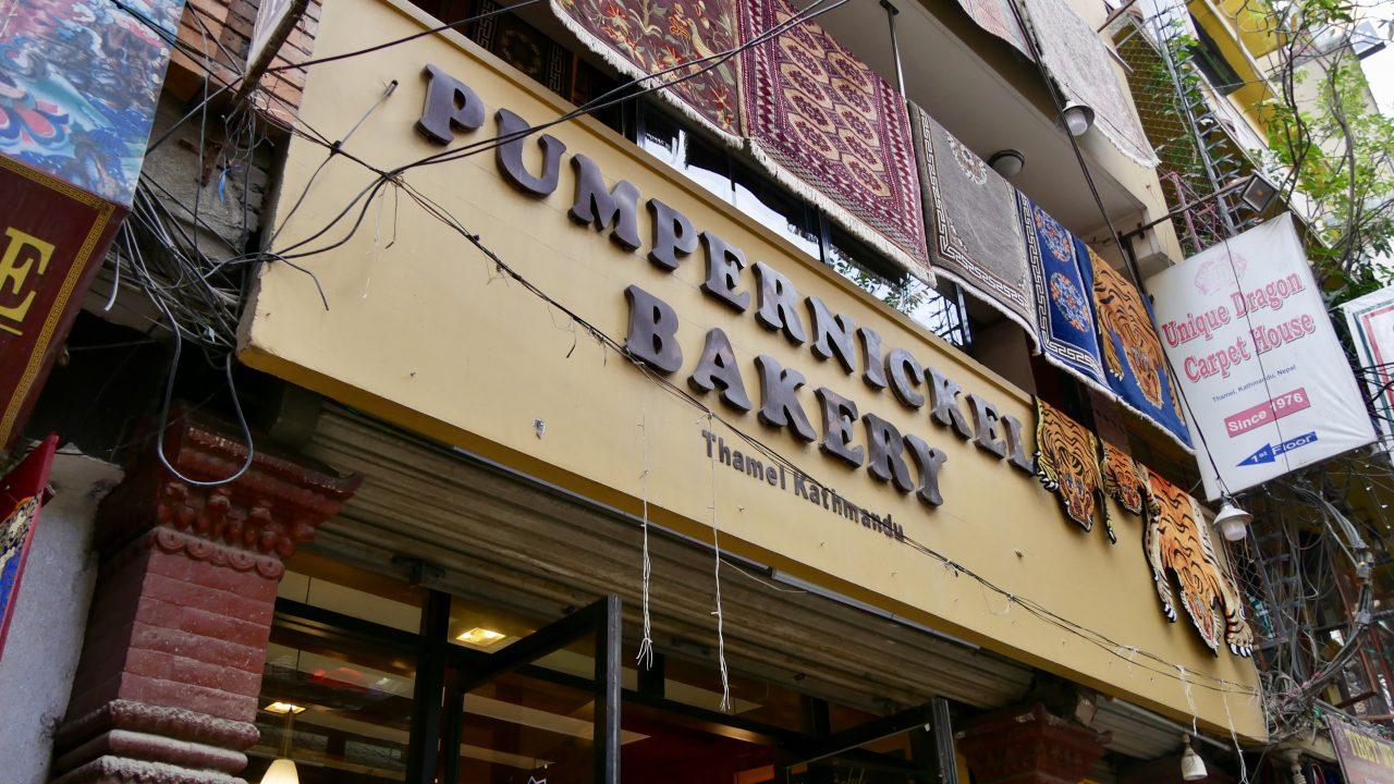 Pumpernickel Bakery, Thamel, Kathmandu, Nepal