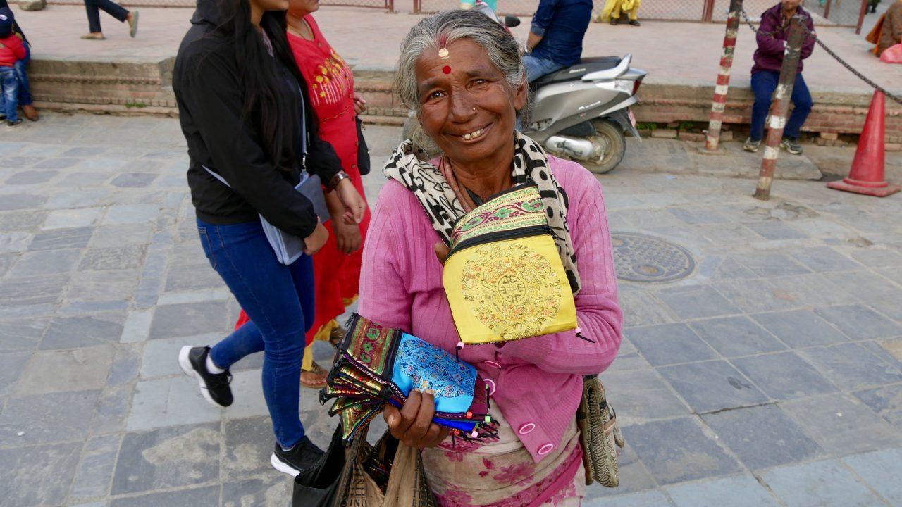 Nepalesin, Durbar Square, Kathmandu, Nepal