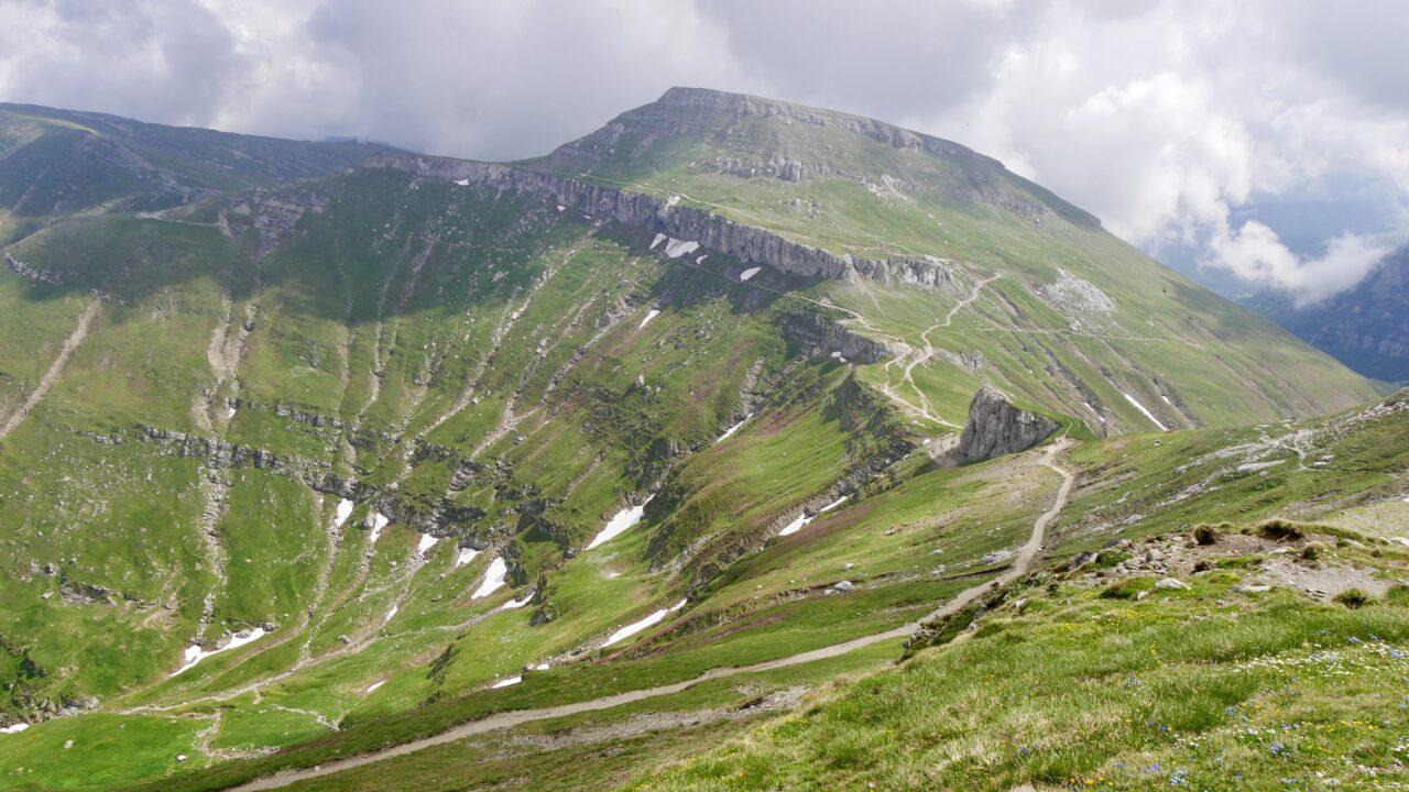 Weg zum Omu (2.507 m)