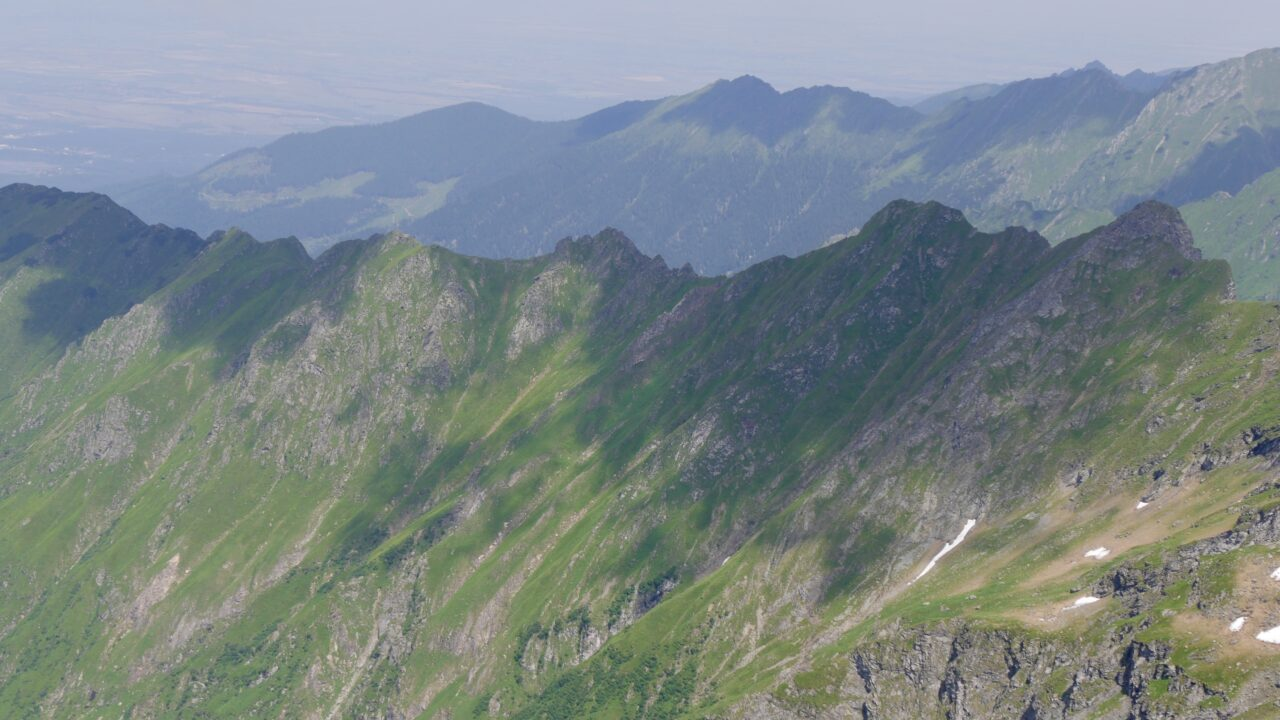 Weg zum Gipfel Capra (2.494 m) und Buteanu (2.507 m)